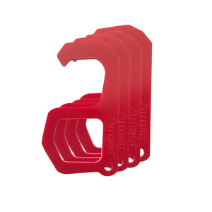 LITTMUSS Hybrid Safety Handle Red -Pack of 4