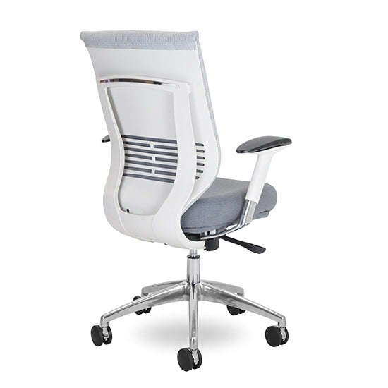 Grid Voyager Chair with White frame