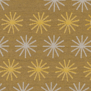 Spokes Goldenrod Fabric Swatch