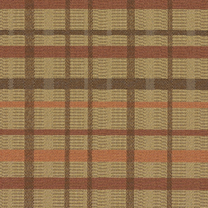 Tattersall 9 Spice Fabric Swatch