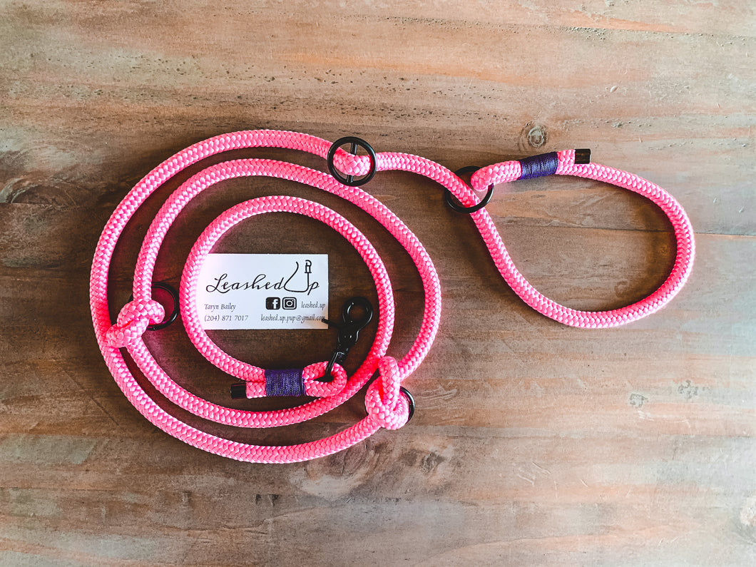 Adjustable Slip Leash - 10mm
