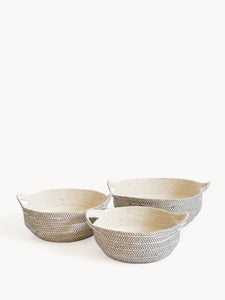 Amari Fruit Bowl - Black (Set of 3)