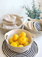 Load image into Gallery viewer, Amari Fruit Bowl - Black (Set of 3)