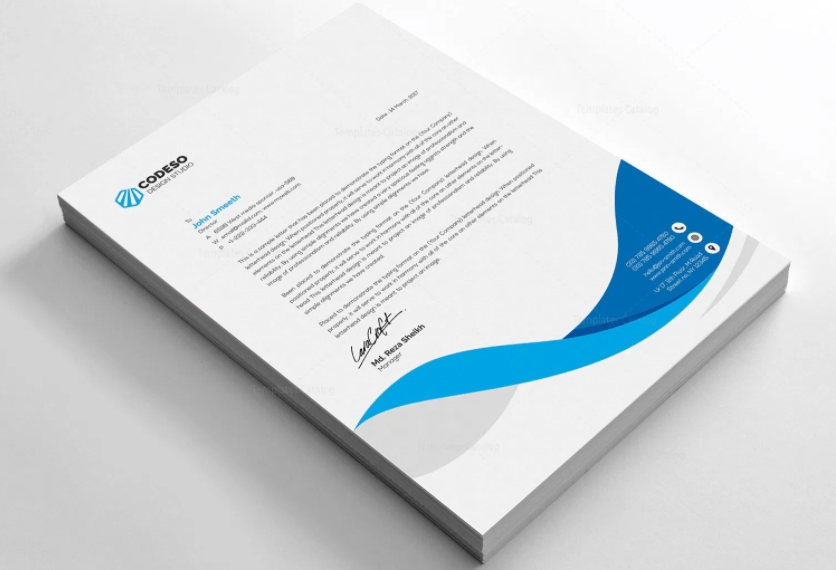 Letterhead - Single Sided