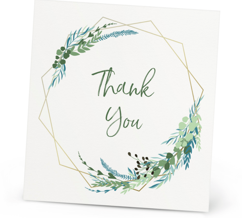 Postcards / Thank You Cards - Branditt_Canada