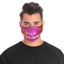 Load image into Gallery viewer, Fuck off, I'm a Celebrity. Cloth Face Mask