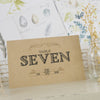 'Vintage' Kraft Wedding Table Name Cards