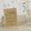'Vintage' Kraft Wedding Thank You Cards