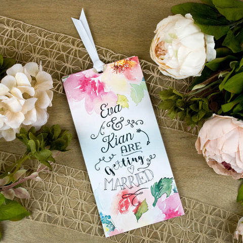 'Blossoming Love' Wallet Wedding Invitation