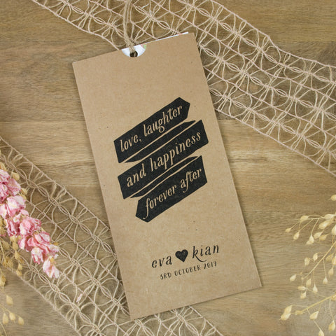 Forever Vintage Wallet Wedding Invitation