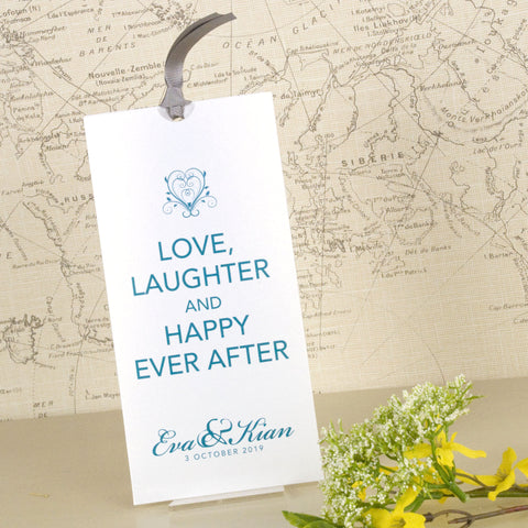 'Happy Ever After' Wallet Wedding Invitation