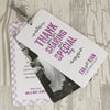'Laugh Drink Smile' Wedding Thank You Card Tags-Showing Wedding Picture