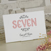 'Love Is All You Need' Ivory Wedding Table Name Cards