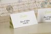 'Love Laughter' Wedding Place Name Cards-Bride Reverse