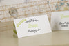 'Love Laughter' Wedding Place Name Cards-Bride