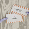 'Love Love Love' Wedding Place Name Tags