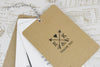 'Lucky Arrows' Wedding Thank You Card Tags