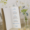 'Lucky Arrows' Wedding Menu, Inside Pages
