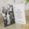 Showing Inside Pages of 'Lucky Arrows' Ivory Wedding Thank You Cards