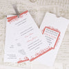 Showing Wedding Wording for 'Ornate Frame' Wallet Wedding Invitation