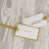 'Smile' Wedding Place Name Tags