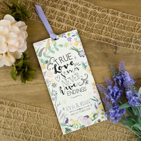 'True Love' Wallet Wedding Invitation