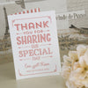 'Vintage Typography' Ivory Wedding Thank You Cards