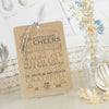 'Vintage' Wedding Thank You Card Tags