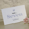 'Wordie' Wedding Table Name Cards