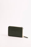 MARIANA zipped-wallet in GREEN