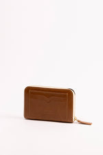 MARIANA zipped - wallet BROWN