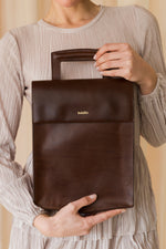 HARPER briefcase BROWN