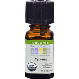 Aura Cacia - Organic Essential Oil - Cypress - .25 oz