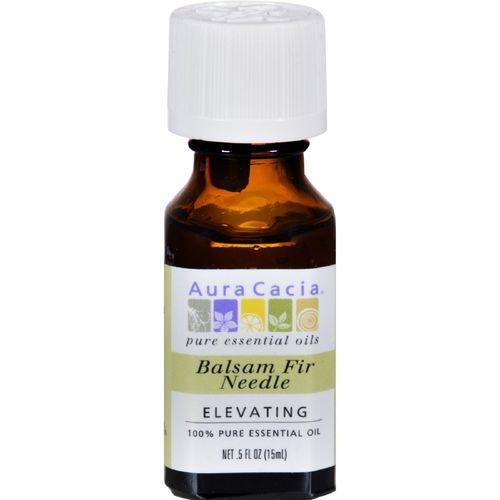Aura Cacia - 100% Pure Essential Oil - Balsam Fir Needle - Elevating - .5 fl oz