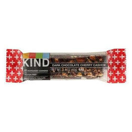 Kind Bar - Dark Chocolate Cherry Cashew Plus Anti-Oxidants- Case of 12 - 1.4 oz