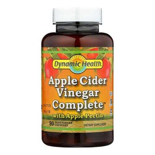 Dynamic Health Apple Cider Vinegar Complete with Apple Pectin - 90 Vegetarian Capsules