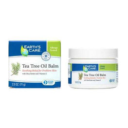 Earth's Care Tea Tree Oil Balm - 2.5 oz