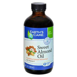 Earth's Care 100% Pure Sweet Almond Oil - 8 fl oz