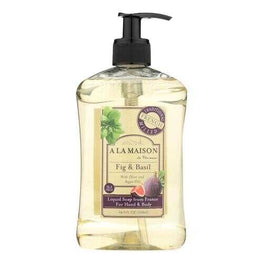 A La Maison - French Liquid Soap - Fig and Basil - 16 oz