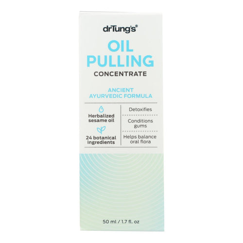 Dr. Tung's Oil Pulling - Ancient Ayurvedic Formula - Case of 1 - 1.7 oz.