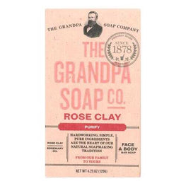 Grandpa Soap Soap - Rose Clay - 4.25 oz