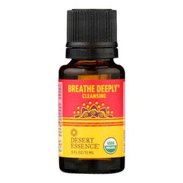 Desert Essence - Essential Oil - Breathe Deeply - Case of 1 - .5 fl oz.