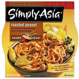 Simply Asia Roasted Peanut Noodle Bowl (6x8.5 Oz)