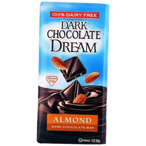 Dream Bar Almond Dark Chocolate Bar (12x3 Oz)
