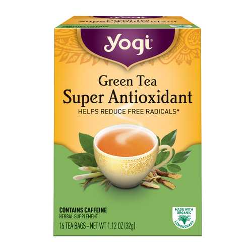 Yogi Green Spr Antioxidnt Tea (6x16 Bag)