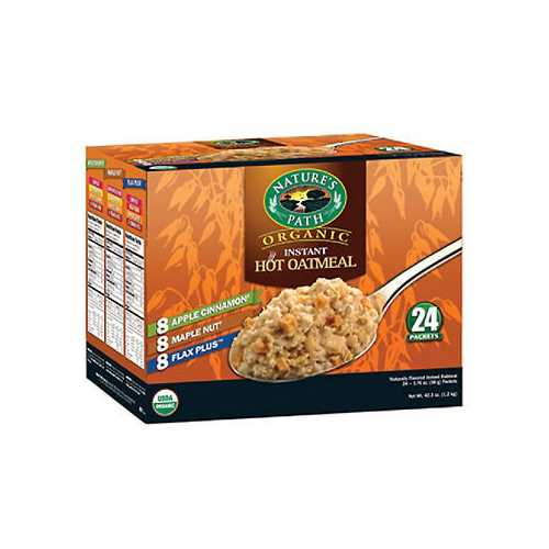 Nature's Path Variety Oatmeal Pouch (6x8x1.7 Oz)