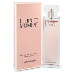 Eternity Moment by Calvin Klein Eau De Parfum Spray 1.7 oz (Women)
