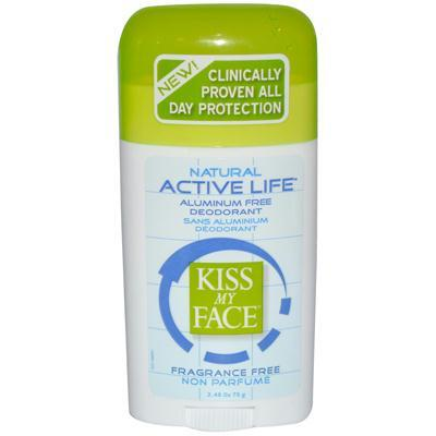 Kiss My Face Fragrance Free Active Enzyme Deodorant Stick (1x2.48 Oz)