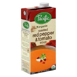Pacific Natural Foods Roasted Red Pepper & Tomato Soup (12X8 OZ)