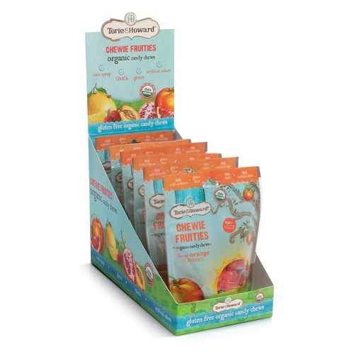 Torie and Howard Chewie Fruities Blood Orange (6x4 OZ)